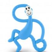 Игрушка-прорезыватель Matchstick Monkey Танцующая Обезьянка (цвет голубой, 14 см)