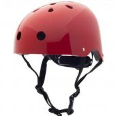 Велосипедный шлем 44 - 51см, рубиновый Coconut Trybike