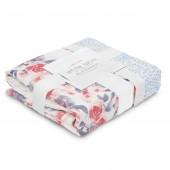 Бамбуковое одеялко Watercolour Garden - Roses (2 слоя)