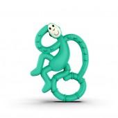 Игрушка-прорезыватель Matchstick Monkey Маленькая Танцующая Обезьянка (цвет зелёный, 10 см)