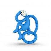 Игрушка-прорезыватель Matchstick Monkey Маленькая Танцующая Обезьянка (цвет синий, 10 см)