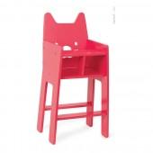 Высокий стульчик для куклы
