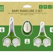 """Детский маникюрный набор, ножницы и кусачки 0M+, 3M+, 9M+ """"Newborn to Infant Set"""" Nature Love Mere, Корея"""