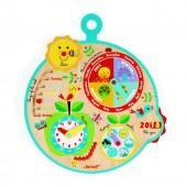 """Развивающая игрушка Janod Календарь """"Времена Года"""" на английском языке"""