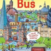 Интерактивная книга со звуковыми эффектами Автобус, серия Wind-Up, Usborne™