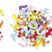Набор магнитных букв Janod Алфавит английский язык