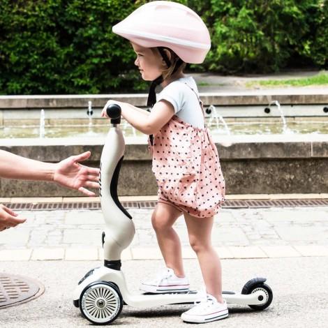 Самокат Scoot and Ride серии Highwaykick-1 пастельно-розовый, до 3 лет/20кг  (арт. SR-160629-ROSE)