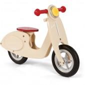 Скутер-беговел ванильного цвета