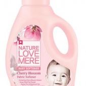 """Кондиционер-ополаскиватель для детской одежды с экстрактом цветков вишни """"Cherry Blossom"""" Nature Love Mere 1,8 л, Корея"""