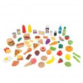 Игровой набор «Продукты и еда» (65 предметов) KidKraft