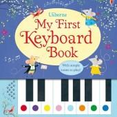 Интерактивная книга со звуковыми эффектами Моя первая книга с клавишами, Usborne™