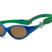 Детские солнцезащитные очки Koolsun Flex зеленые (Размер 3+)