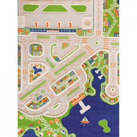 Ковер IVI 3D Play Carpets Mini City 134х180 см