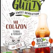 Органические фруктовые жевательные конфеты со вкусом колы 100г, Not Guilty Sweet Revolution