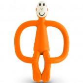 Игрушка-прорезыватель Matchstick Monkey (цвет оранжевый, 10,5 см)