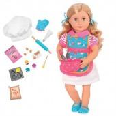 Набор Our Generation DELUXE Кукла Джен с одеждой и аксессуарами 46 сантиметров