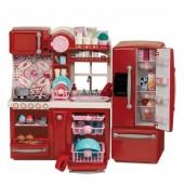Набор мебели Our Generation Кухня для гурманов 94 аксессуара красная