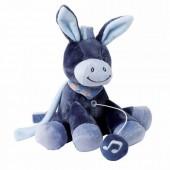 Мягкая игрушка Nattou Ослик Алекс 21см. с музыкой