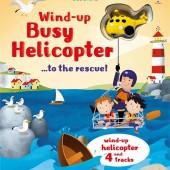 "Интерактивная обучающая детская книга ""Вертолет"" Wind-up Busy Helicopter ...to the Rescue!, серія WIND-UP"