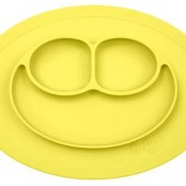 EZPZ - Силиконовая тарелка Mini mat, цвет Lemon
