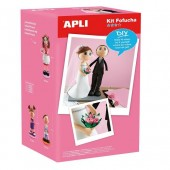 """Apli Kids™   Комплект для рукоделия """"Жених и Невеста"""", Испания"""