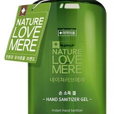 Антисептик дезинфектор для рук, гелеобразный, Nature Love Mere (NLM) 500ml  (арт. 8809402091140)