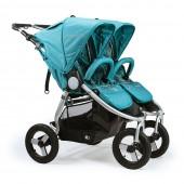 Прогулочная коляска для двойни Bumbleride Indie Twin цвет Tourmaline Wave