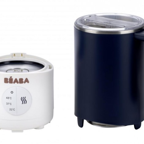 Подогреватель для приготовления молочной смеси и всех видов напитков с миксером Milk Prep Beaba цвет синий  (арт. 912683)
