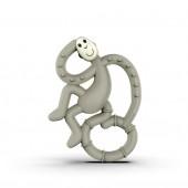 Игрушка-прорезыватель Matchstick Monkey Маленькая Танцующая Обезьянка (цвет серый, 10 см)