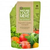 Гель для стирки детской одежды NATURE LOVE MERE™ с экстрактом овощей, 1.3 л (мягкая упаковка), Корея