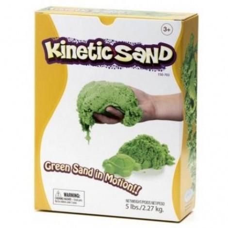 Кинетический цветной песок зелёный, 2.3 кг