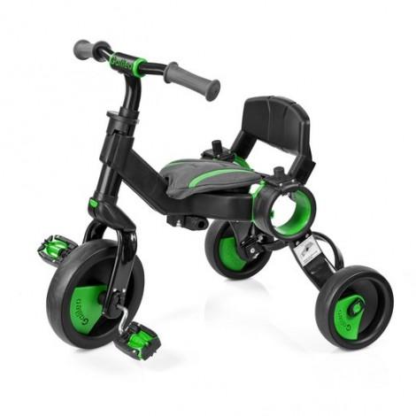 Трехколесный велосипед Galileo STROLLCYCLE чёрная рама Зеленый  (арт. GB-1002-G)