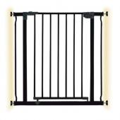 Ворота безопасности металлические Dreambaby LIBERTY, черные
