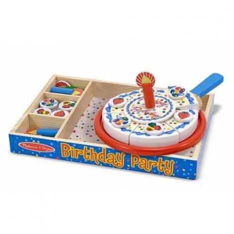 День рождения-торт деревянный набор