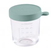 Контейнер стеклянный для хранения Beaba 250 мл - эвкалипт