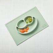 EZPZ - Силиконовая тарелка Happy Mat, цвет Sage