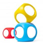 Игрушка-мяч Oibo (яркие цвета, 3 шт в уп.)