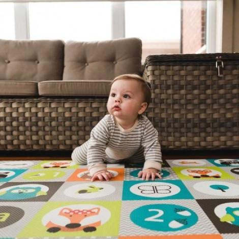 Двухсторонний игровой коврик в детскую bbluv™ Mülti Дороги  (арт. B0130)