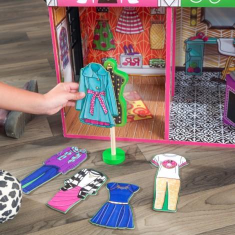 Интерактивный кукольный домик KidKraft «Brooklyn's Loft»  (арт. 65922)
