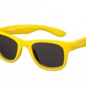 Детские солнцезащитные очки Koolsun Wave золотого цвета (Размер 3+)