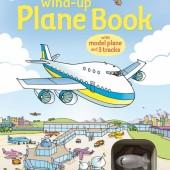 Интерактивная книга со звуковыми эффектами Самолет, серия Wind-Up, Usborne™