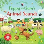 Usborne® Детская книга Учим звуки животных с Поппи и Сэмом