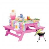 Набор мебели Our Generation Стол для пикника с аксессуарами