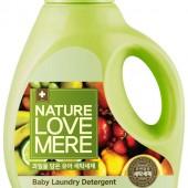 """Гель для стирки детских вещей с экстрактом фруктов """"Fruit Baby"""" Nature Love Mere 1.8 л, Корея"""