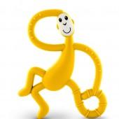 Игрушка-прорезыватель Matchstick Monkey Танцующая Обезьянка (цвет жёлтый, 14 см)