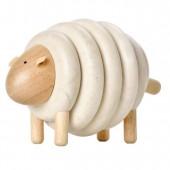 Деревянная игрушка Овечка из колец