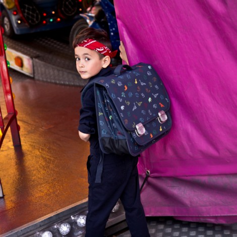 Портфель школьный 6-11 лет Jeune Premier (Piers) Оригами  (арт. Pal19203)