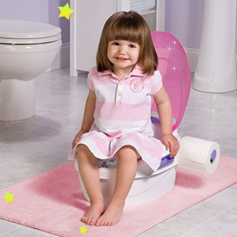 Детский горшок Step by Step 3 в 1 цвет Розовый Summer Infant  (арт. 11446B)