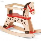 Качалка карамельная лошадка