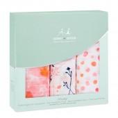 Набор полотенец Petal blooms (3 шт. 70х70 см) - Aden+Anais